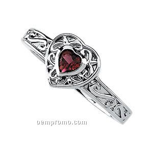14kw Genuine Pink Tourmaline Ring