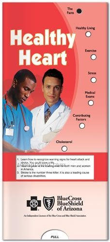 Healthy Heart Pocket Slider Chart/ Brochure