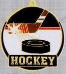 "2"" Color-filled Stock Medal - Hockey"