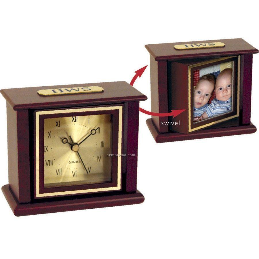 Classic Swivel Picture Clock