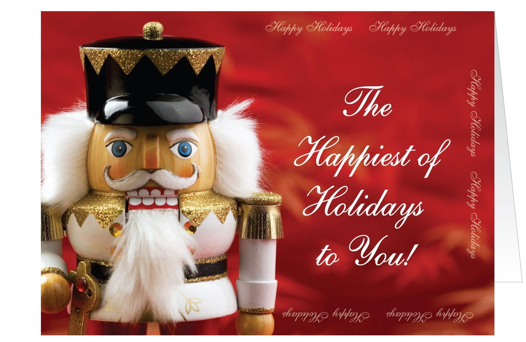Nutcracker happy holidays greeting cardchina wholesale nutcracker nutcracker happy holidays greeting card kristyandbryce Gallery
