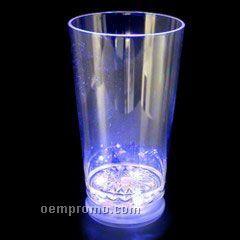 16 Oz. Blue LED Pint Light Up Glass