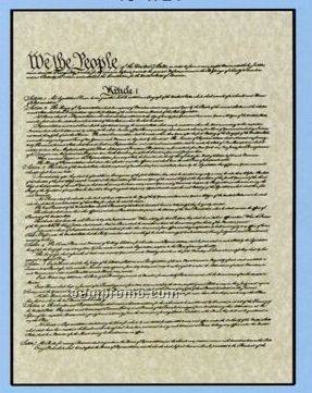 "Declaration Of Independence - Original Or Retype Set Version (8 1/2""X11"")"