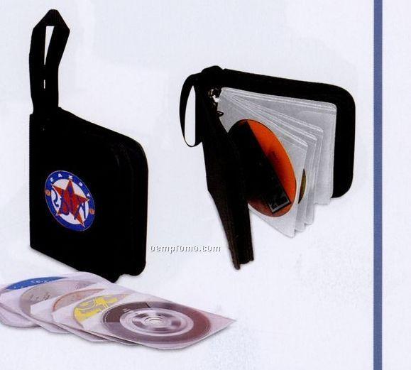 Deluxe 12 CD Or 6 Zip Disk Holder