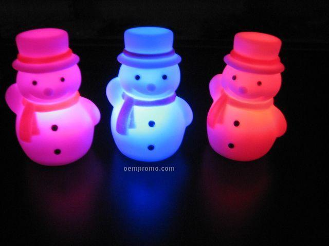 LED Snowman Christmas Gift