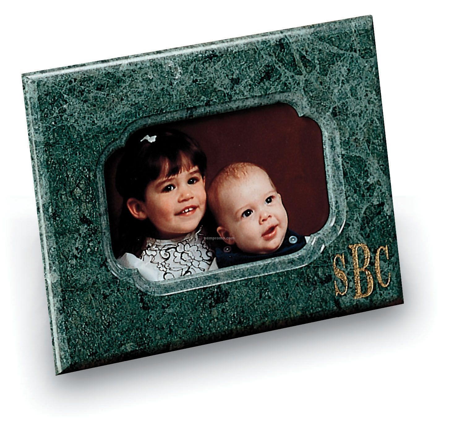 """4""""X6"""" Picture Frame (Green Marble)"""