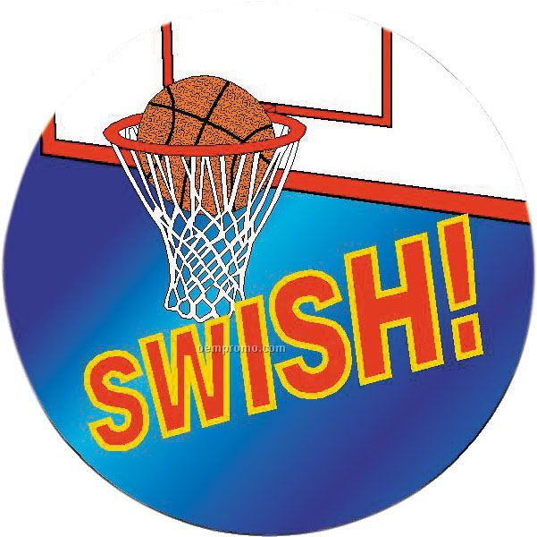 "Basketball - 2"" Mylar Insert"