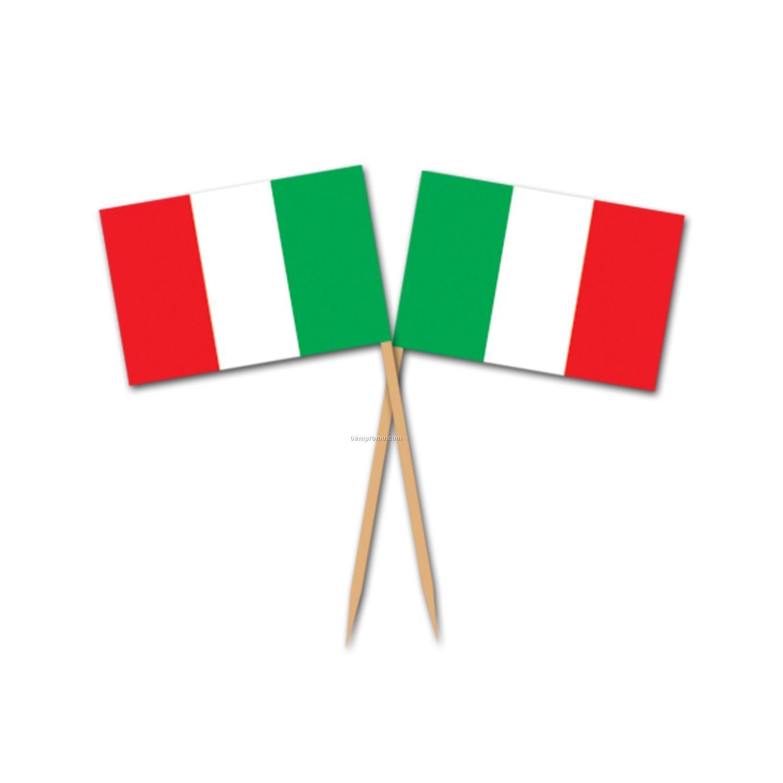 Italian Flag Picks China Wholesale Italian Flag Picks