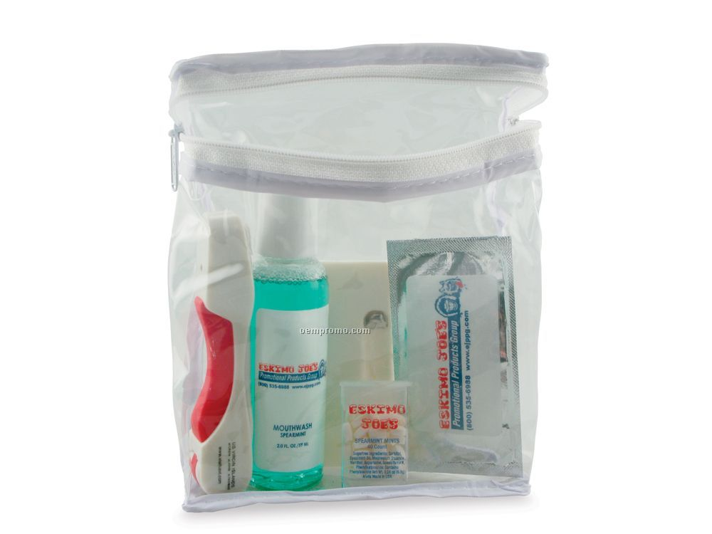 Oral Care Kit With Toothbrush Toothpaste Amp Floss 6 Piece