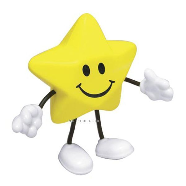 Star Figure Squeeze Toy