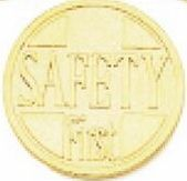 "1-1/4"" Success Line Motivational Coin - Safety First"