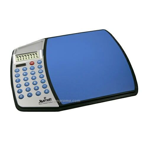 Computer Mouse Pad With Calculator