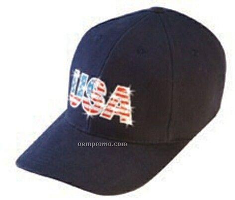 Constructed Usa Flashing Cap