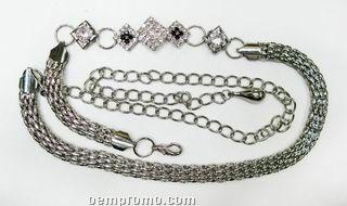 Ladies Women Fashion Metal Waist Chain Belt