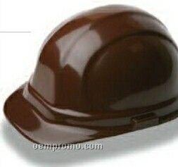 Omega II Cap Hard Hat W/ 6 Point Mega Ratchet Suspension - Beige