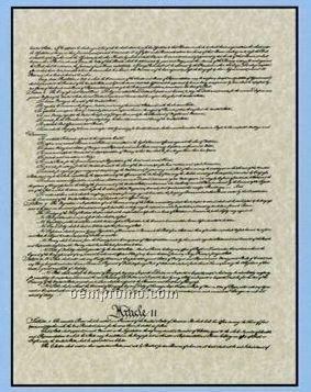 "The Constitution On 4 Panels - Original (18""X24"")"