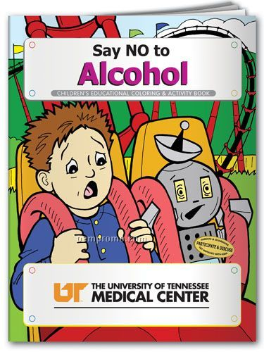 Coloring Book - Say No To Alcohol