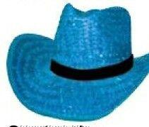 Custom Vibrant Color Straw Hat W/Imprinted Vinyl Band
