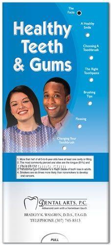 Healthy Teeth - Healthy Gums Pocket Slider Chart/ Brochure