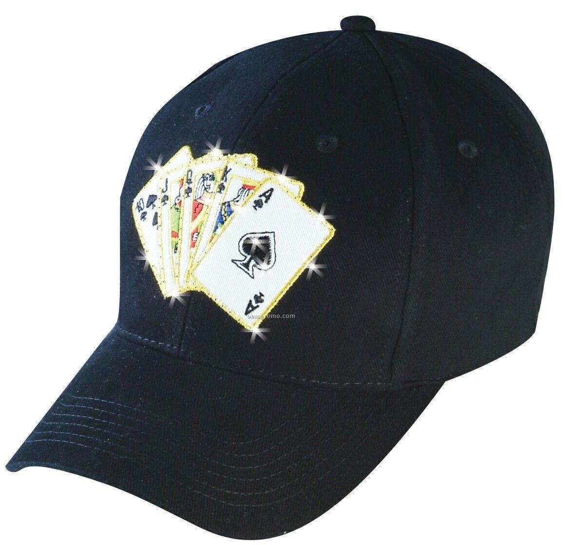 Playing Card Flashing Cap