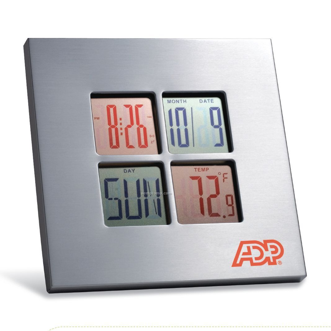 Color Lcd Display Clock (6