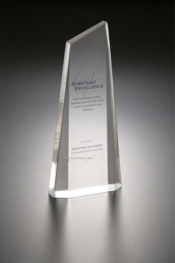 Lucite Embedment Award