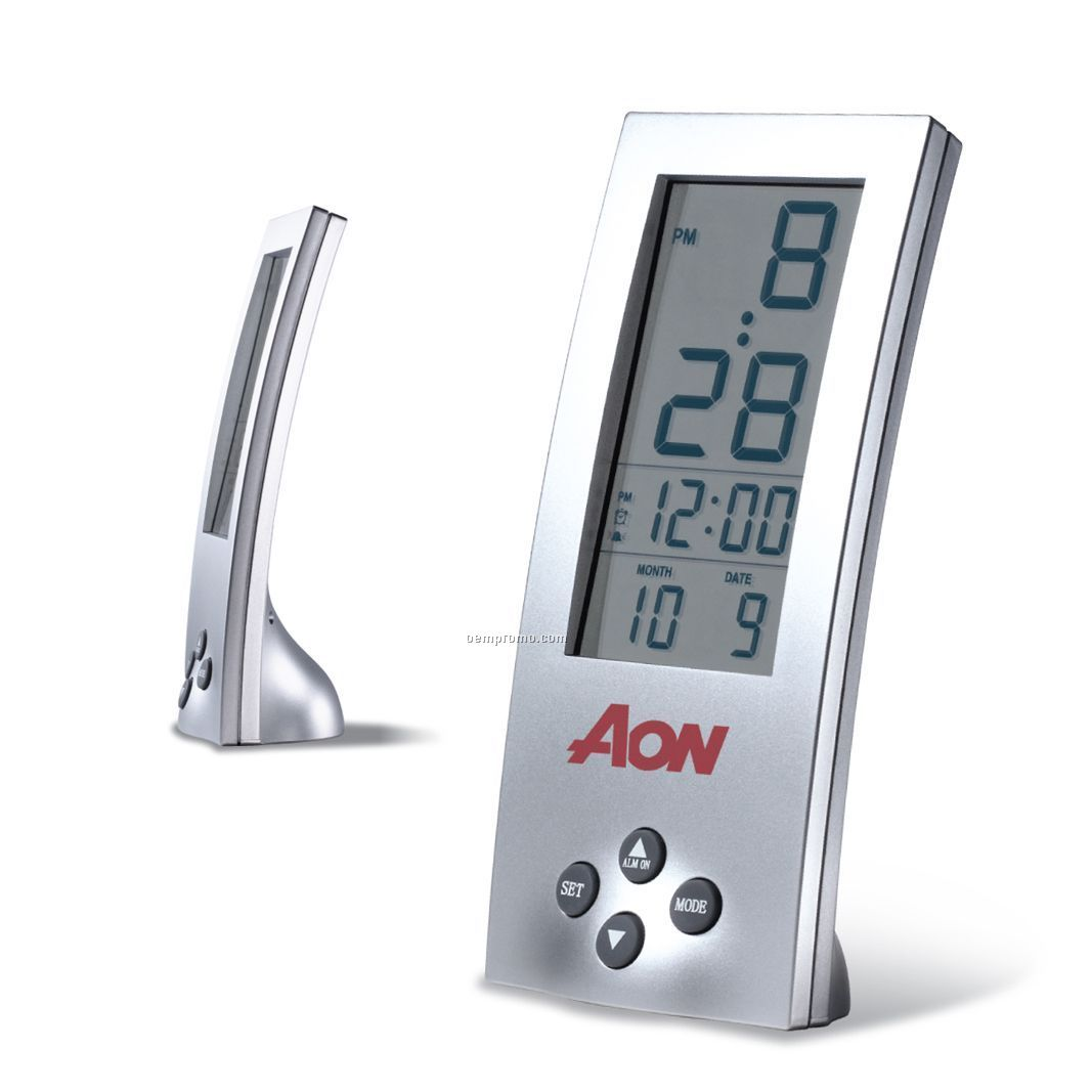 "Vertical Alarm Clock (2-1/4""X5-1/2"")"
