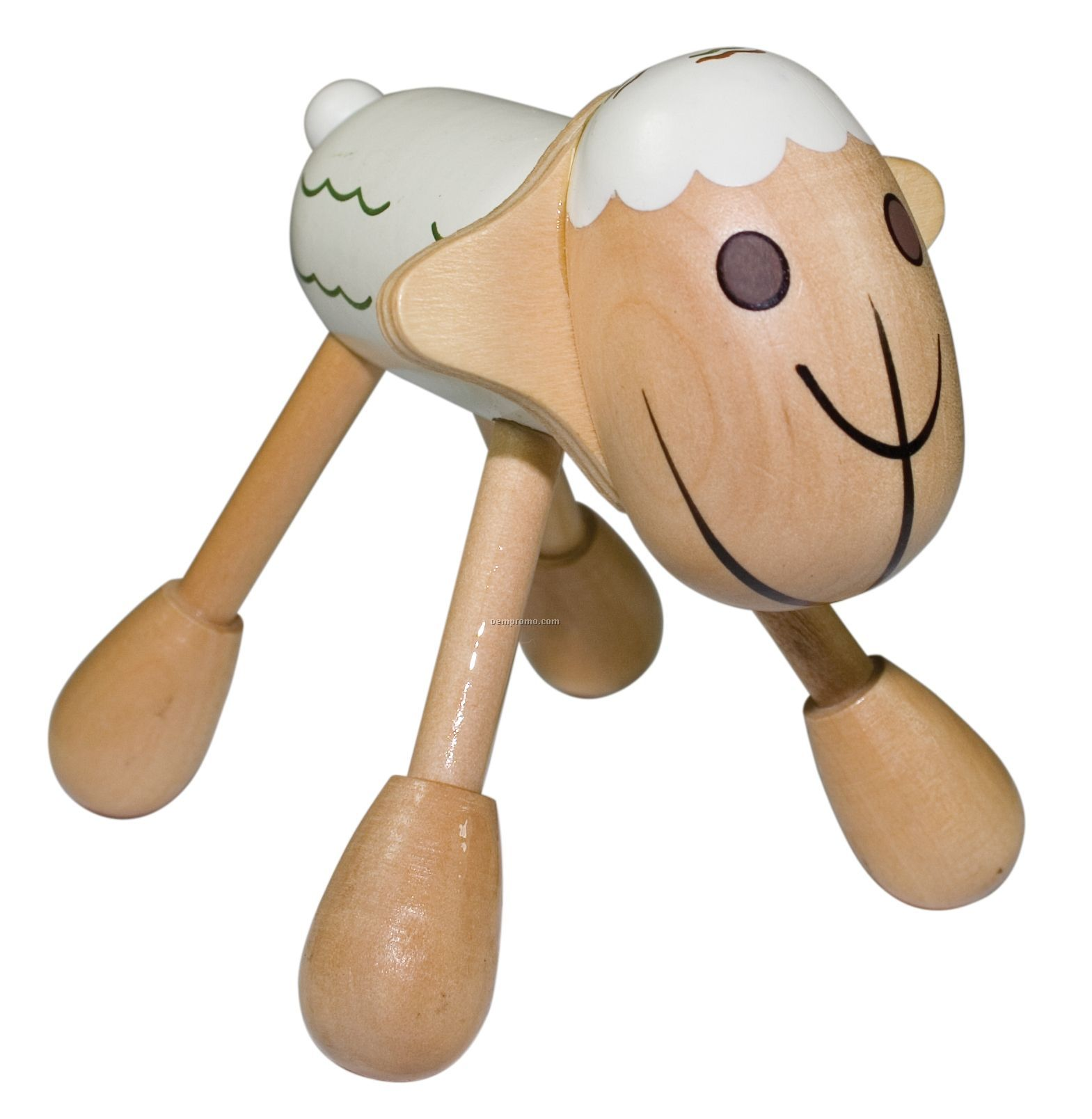 Wooden Sheep Massager