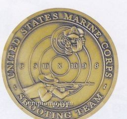 "1-1/4"" Imported Die Struck Coin/ Medallion"