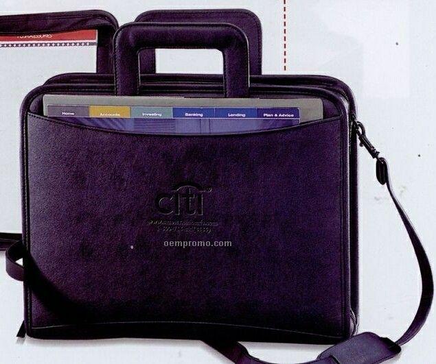 cambridge 3 ring binder zipper portfolio china wholesale