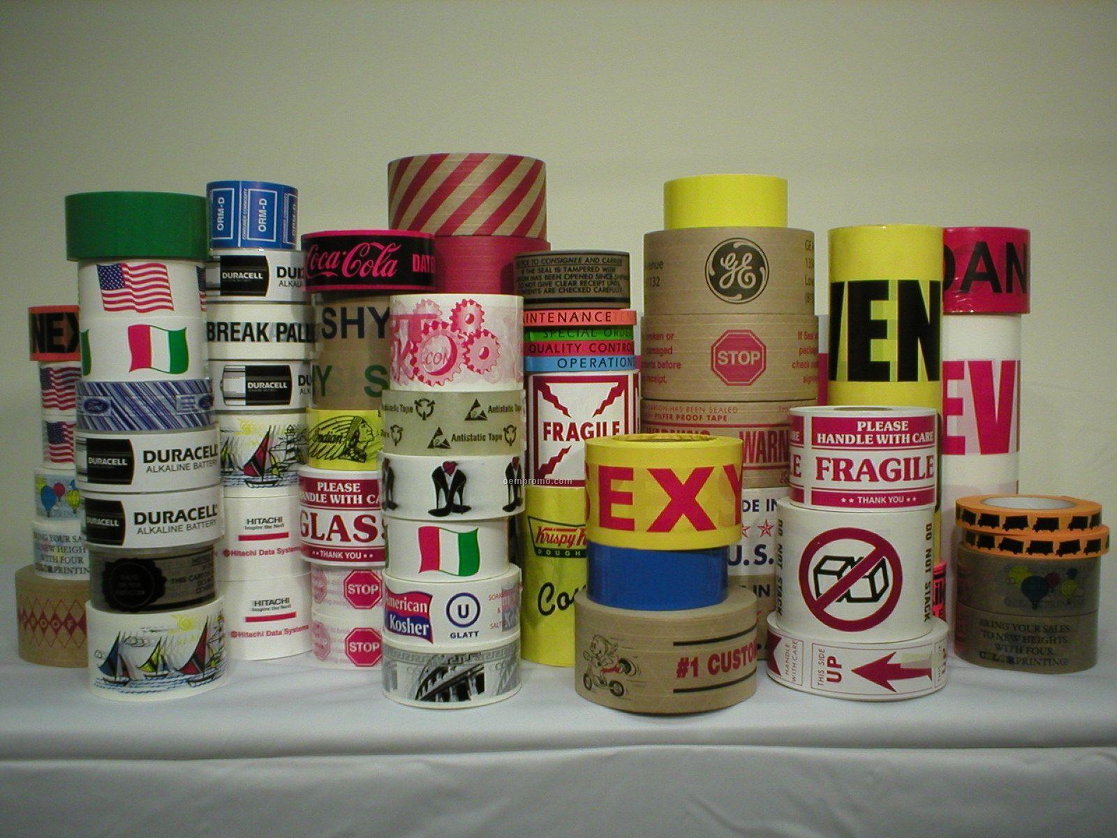 Custom Printed Poly Pro Acrylic Adhesive Tape