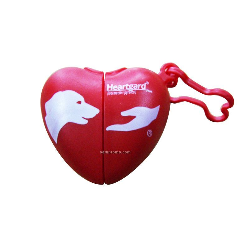 Heart-shaped Doggie Dispenser