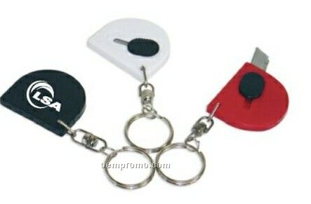 Knife Retractable Small W/ Attached Key Ring