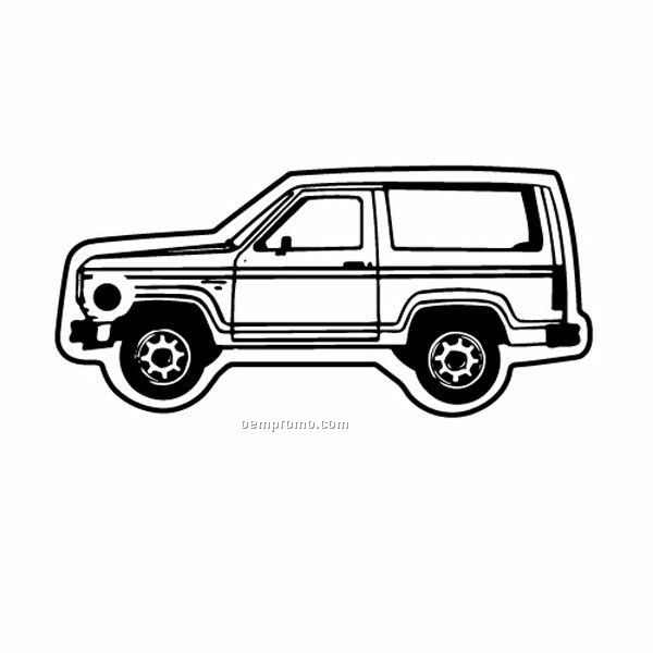 Stock Shape Collection Ford Bronco Key Tag