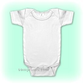 White Preemie Cotton Short Sleeve One Piece - 3 Pack