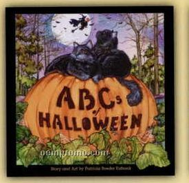 Abcs Of Halloween - Children's Book