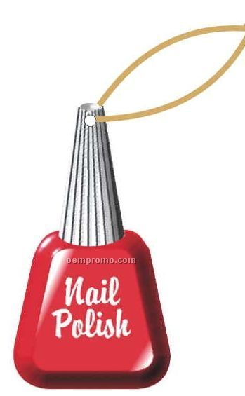 Nail Polish Executive Ornament W/ Mirrored Back (3 Square Inch)