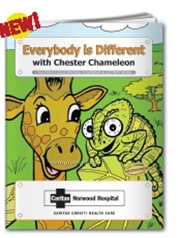 Coloring Book - Everybody Is Different W/Chester Chameleon