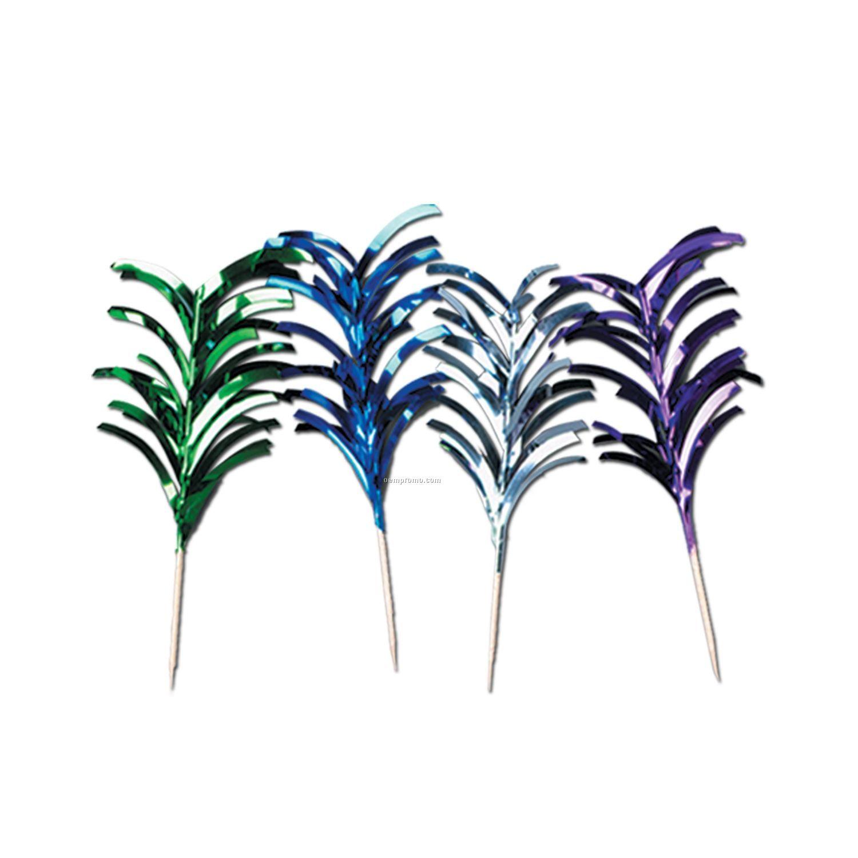 Metallic Feather Picks