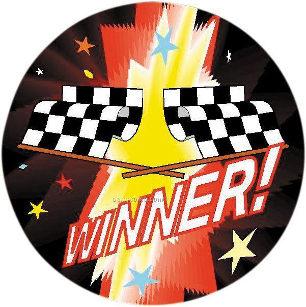 """Winner - 2"""" Mylar Insert"""