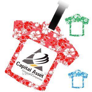 Hawaiian t shirt luggage tag china wholesale hawaiian t for T shirt tags wholesale