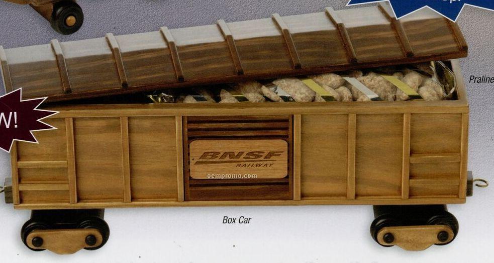 Wooden Box Car (Empty)