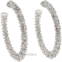 Guess Sparkle Hoop Earrings