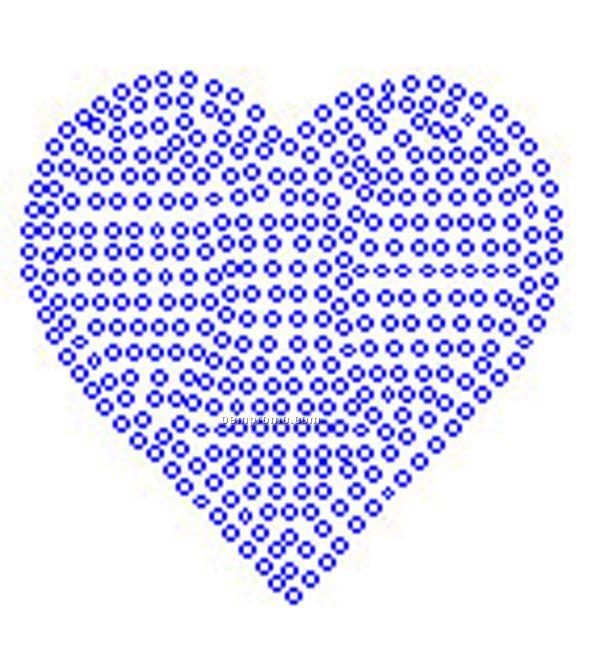 Heart Rhinestone Transfer
