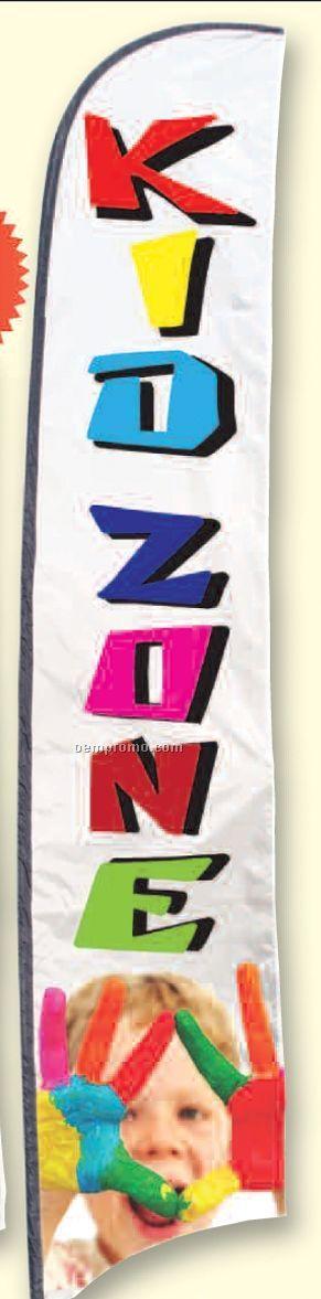 Street Talker Custom Feather Flag (2.5'x15')