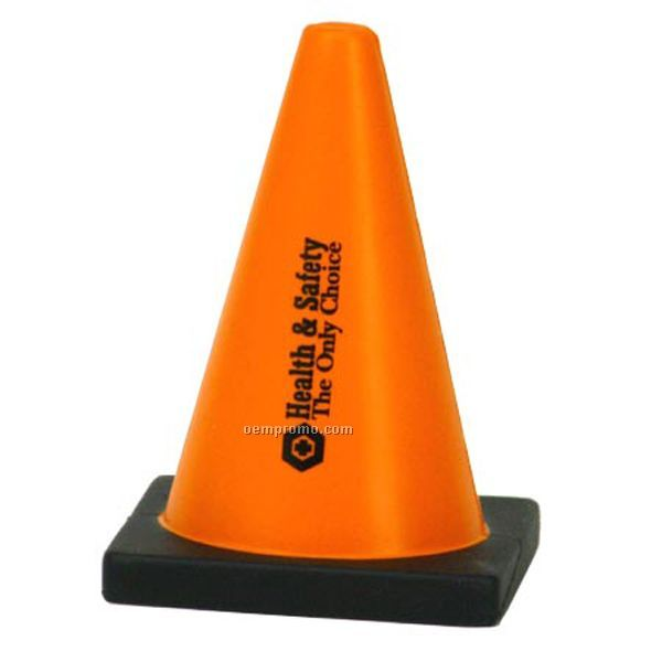 Construction Cone Squeeze Toy