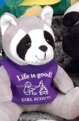 Q-tee Collection Stuffed Raccoon