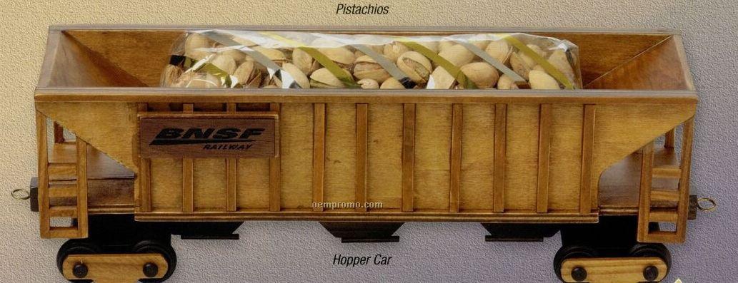 Wooden Train Hopper Car (Empty)