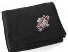 Black Velura Throw Blanket