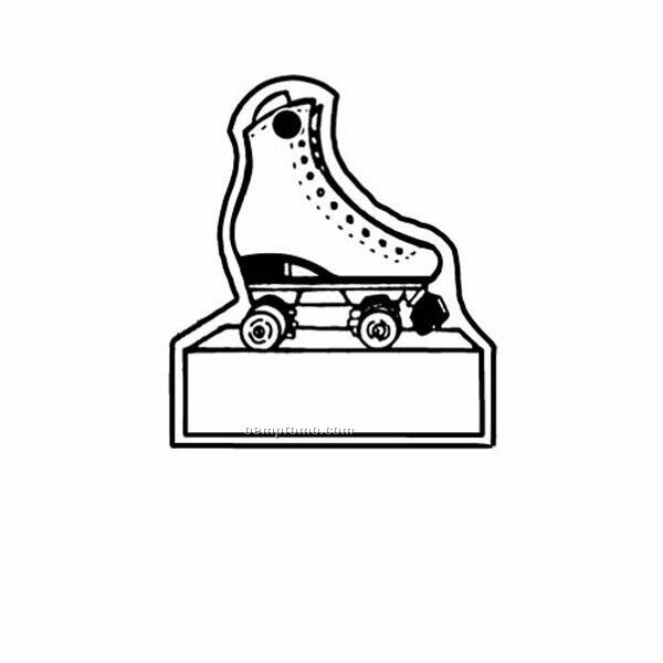 Stock Shape Collection Roller Skate W/ Sign Key Tag